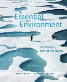 Essential Environment + Masteringenvironmentalscience With Etext Access Card: The Science Behind the Stories  2014 edition cover
