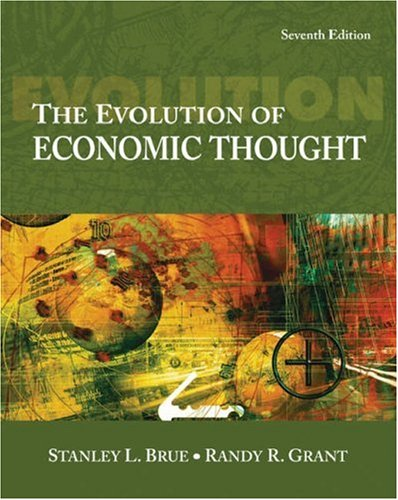 Evolution of Economic Thought  7th 2007 edition cover