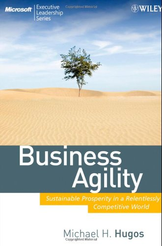 Business Agility Sustainable Prosperity in a Relentlessly Competitive World  2009 edition cover