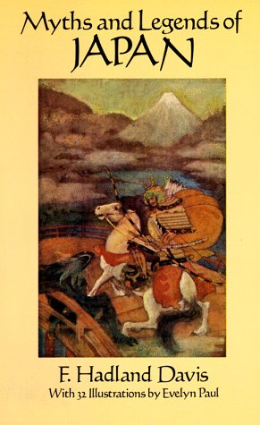 Myths and Legends of Japan   1992 (Reprint) edition cover