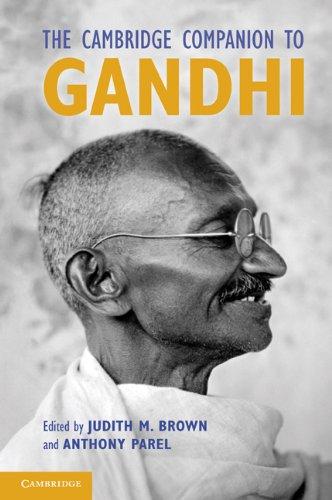 Cambridge Companion to Gandhi   2011 edition cover