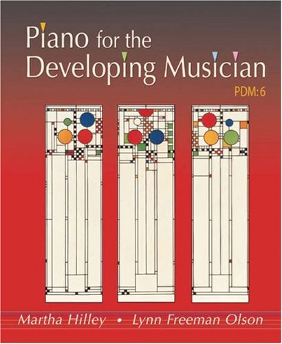 Piano for the Developing Musician  6th 2006 (Revised) 9780534595456 Front Cover