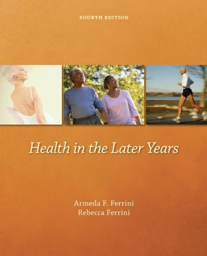 Health in the Later Years  4th 2008 edition cover