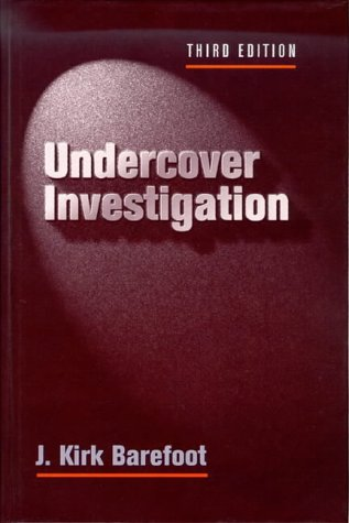 Undercover Investigation  3rd 1995 9780750696456 Front Cover