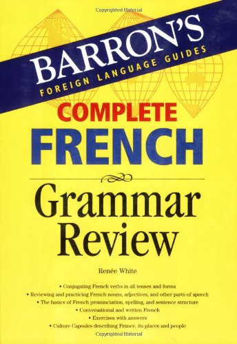 Complete French Grammar Review   2007 edition cover