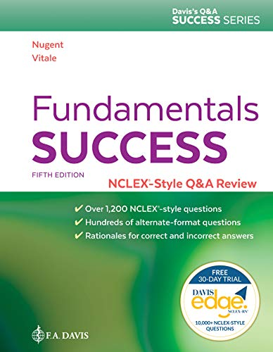 Fundamentals Success A Q and A Review Applying Critical Thinking to Test Taking 5th 2019 (Revised) 9780803677456 Front Cover