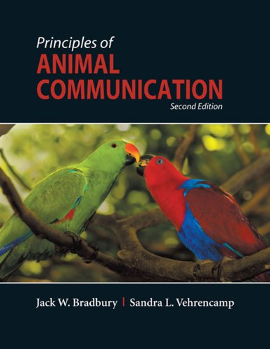 Principles of Animal Communication  2nd 2011 (Revised) edition cover