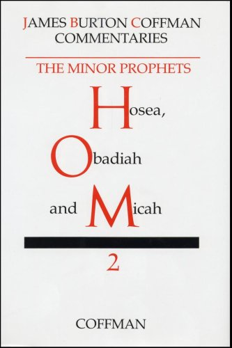 Commentary on Minor Prophets : Hosea, Obadiah and Micah N/A edition cover