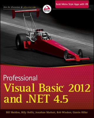 Professional Visual Basic 2012 and .NET 4.5 Programming   2012 edition cover