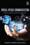 Social Media Communication Concepts, Practices, Data, Law and Ethics  2015 edition cover