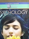 PSYCHOLOGY-12 MONTH ACCESS COD N/A edition cover