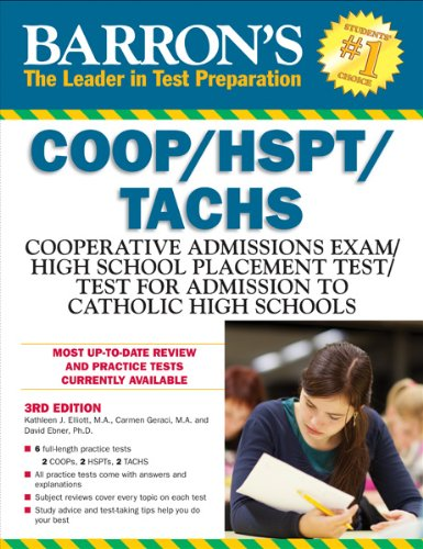 Barron's COOP/HSPT/TACHS, 3rd Edition  3rd (Revised) edition cover