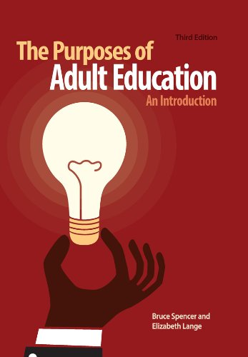 Purposes of Adult Education An Introduction 3rd edition cover