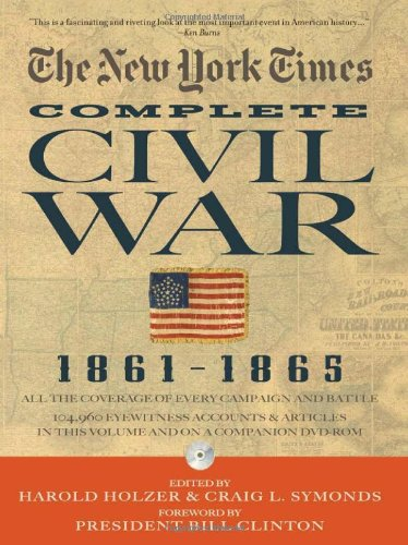 New York Times the Complete Civil War, 1861-1865   2010 edition cover