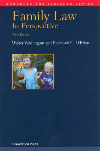 Family Law in Perspective, 3D  3rd (Revised) edition cover
