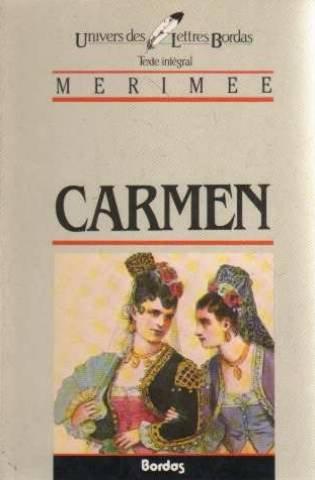 CARMEN 1st edition cover
