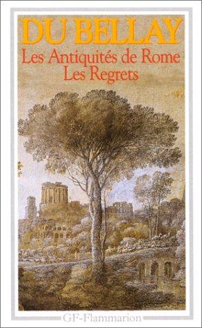 Les Antiquite De Rome: Les Regrets 1st 1994 edition cover