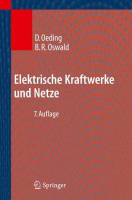 Elektrische Kraftwerke und Netze  7th 2011 edition cover