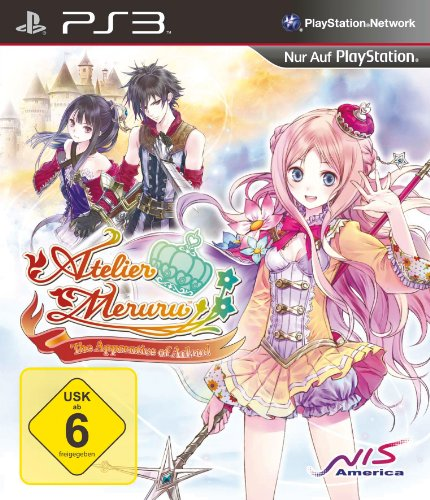 Atelier Meruru - The Apprentice of Arland PlayStation 3 artwork