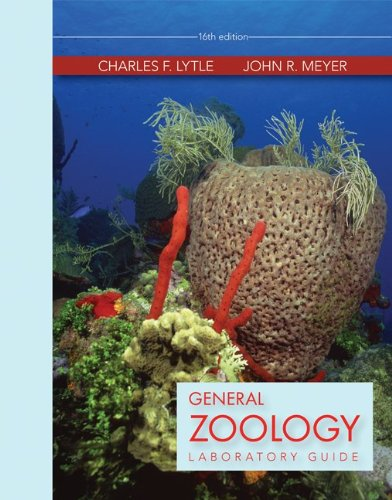 General Zoology Laboratory Guide  16th 2013 edition cover