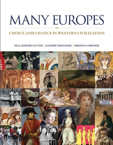 Many Europes Choice and Chance in Western Civilization  2014 edition cover
