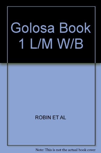 GOLOSA:BASIC CRSE.IN RUSS.,BK. 1st 9780132574457 Front Cover