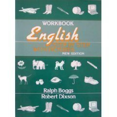 English Step by Step with Pictures  3rd 1991 (Workbook) 9780132798457 Front Cover