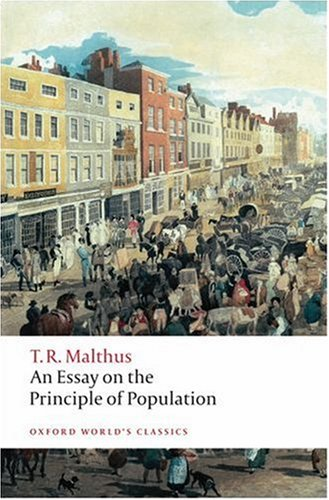 Essay on the Principle of Population   2008 edition cover