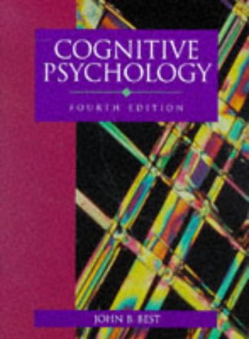 Cognitive Psychology 4th 1995 9780314044457 Front Cover