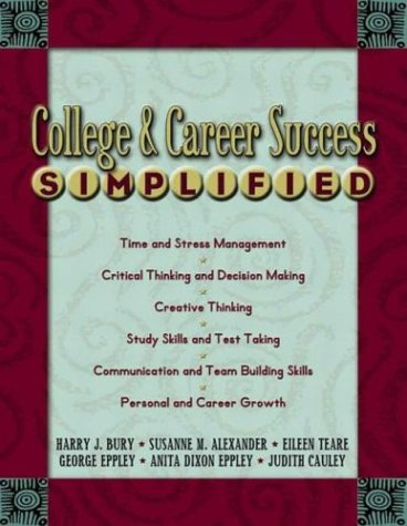 College and Career Success Simplified   2004 edition cover