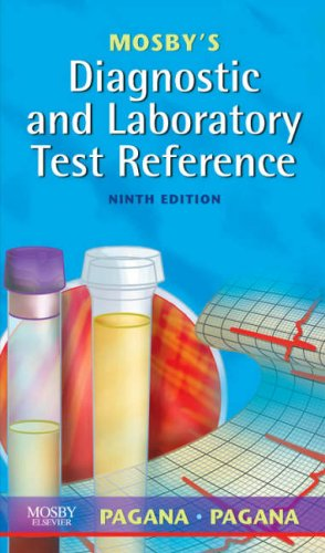 Mosby's Diagnostic and Laboratory Test Reference  9th 2008 edition cover