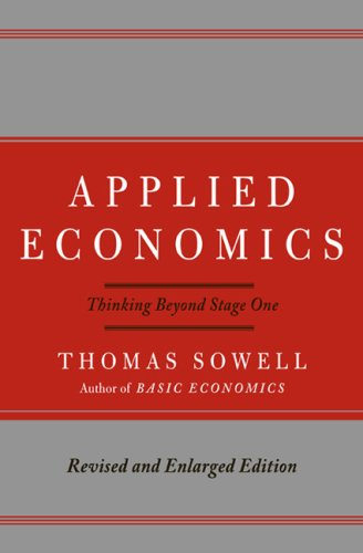 Applied Economics Thinking Beyond Stage One 2nd 2009 edition cover