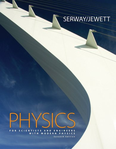 Physics for Scientists and Engineers with Modern Physics  7th 2008 edition cover