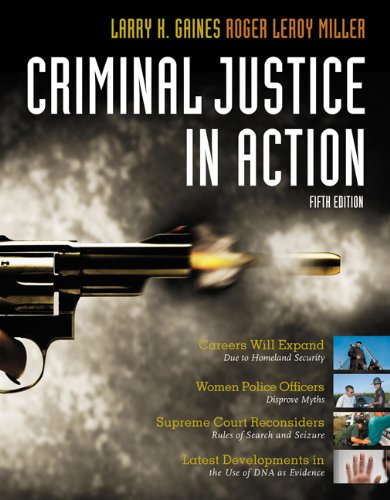 Criminal Justice in Action  5th 2009 (Revised) edition cover