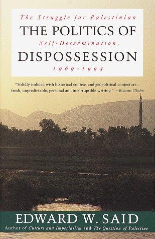 Politics of Dispossession The Struggle for Palestinian Self-Determination, 1969-1994  1995 edition cover