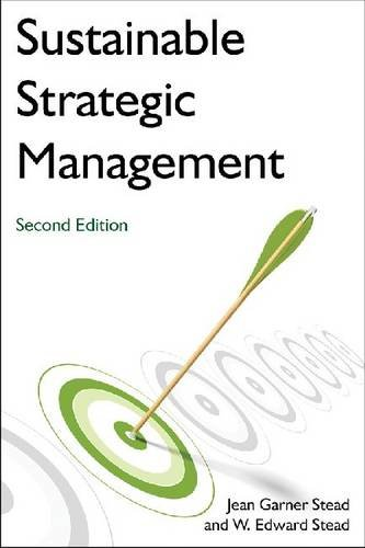 Sustainable Strategic Management:   2013 9780765635457 Front Cover
