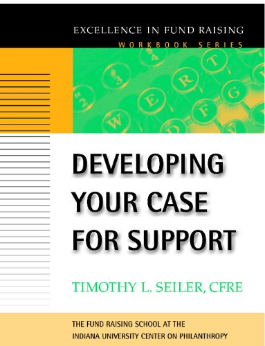 Developing Your Case for Support   2001 edition cover
