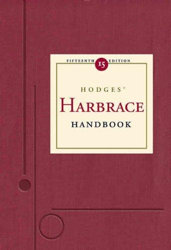 Hodges' Harbrace Handbook  15th 2004 edition cover