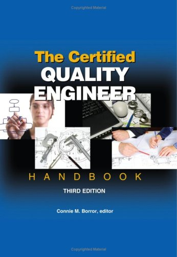 Certified Quality Engineer Handbook  3rd 2008 edition cover