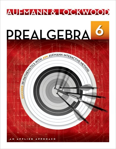 Prealgebra An Applied Approach 6th 2014 9781133365457 Front Cover