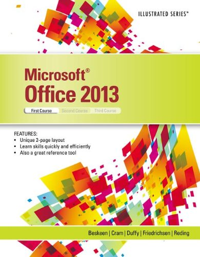 Microsoft� Office 2013 Introductory, First Course  2014 9781285088457 Front Cover
