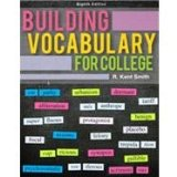 Building Vocabulary for College  8th 2012 edition cover