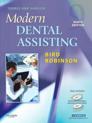 Torres and Ehrlich Modern Dental Assisting  9th 2008 edition cover