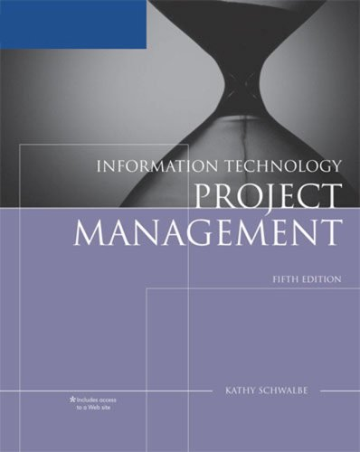 Information Technology Project Management  5th 2008 edition cover