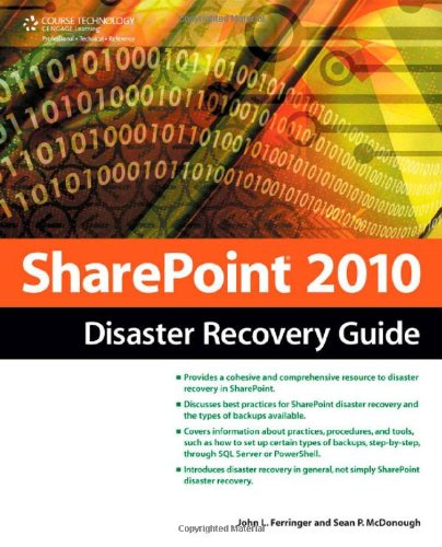SharePoint 2010 Disaster Recovery Guide  2nd 2011 9781435456457 Front Cover
