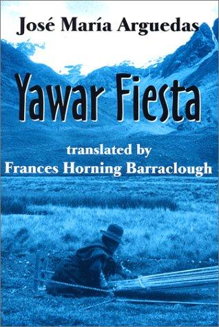 Yawar Fiesta   1985 edition cover