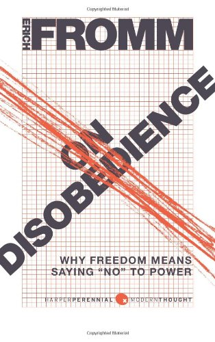 On Disobedience Why Freedom Means Saying No to Power  2010 edition cover