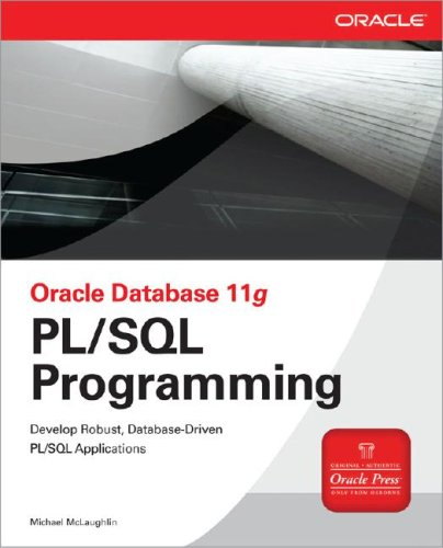 Oracle Database 11g PL/SQL Programming   2008 9780071494458 Front Cover