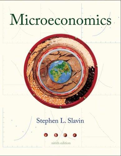 Microeconomics 9th 2009 edition cover
