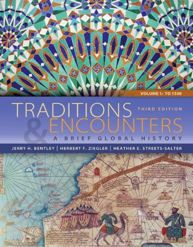 Traditions and Encounters  3rd 2014 9780077827458 Front Cover